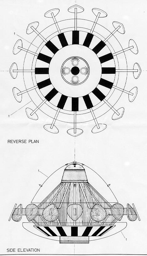 star trek warp engine diagram